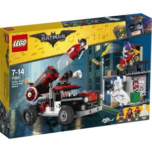 Lego Batman the Movie Harley Quin Kanonkogelaanval 70921