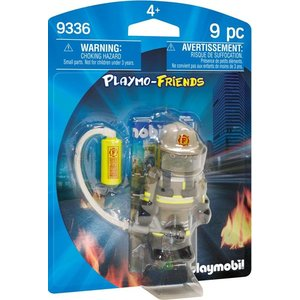 Playmobil Playmo Friends Brandweerman 9336