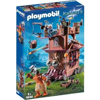 Playmobil Playmobil Knights Mobiele Aanvalstoren van de Dwergen 9340