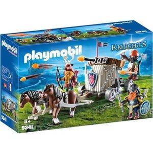 Playmobil Knights Mobiele Ballista met Pony's en Dwergen 9341