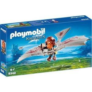 Playmobil Knights Dwerg Zweefvlieger 9342