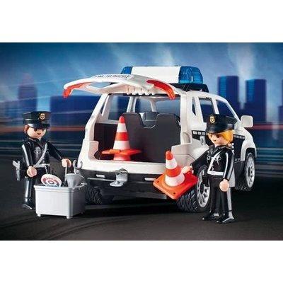 Playmobil Playmobil City Action Politiepost met Voertuigen 9372