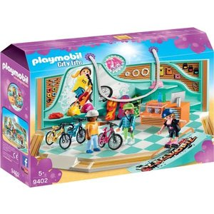 Playmobil City Life Fiets en Skatewinkel 9402