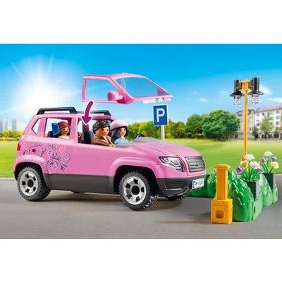 Playmobil Playmobil City Life Familiewagen met Parkeerplaats 9404