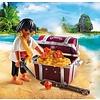 Playmobil Playmobil Special Plus Piraat met Schatkist 9358