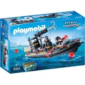 Playmobil Playmobil City Action SIE Rubberboot 9362