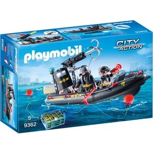 Playmobil City Action SIE Rubberboot 9362