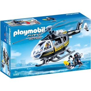 Playmobil City Action SIE Helikopter 9363