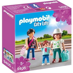 Playmobil City Life Winkelende Meisjes 9405