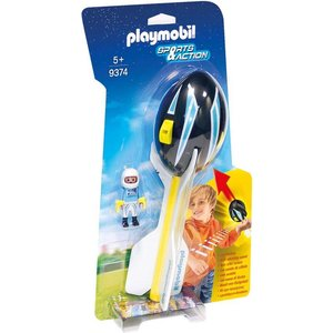Playmobil Sports & Action Piloot met Werpbal 9374
