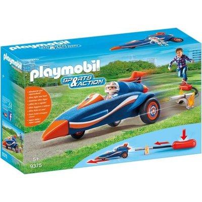 Playmobil Playmobil Sports & Action Piloot met Autoraket 9375