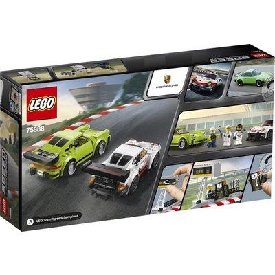 Lego Lego Speed Champions Porsche 911 RSR en Porsche Turbo 3.0 75888