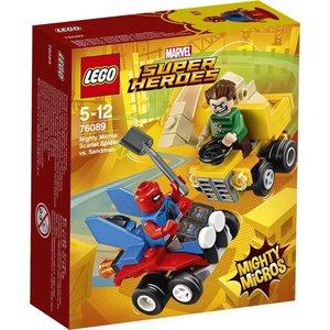 Lego Super Heroes Spider Man vs. Sandman Mighty Micros 76089