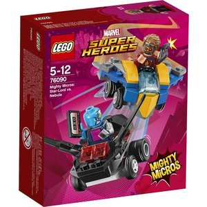 Lego Super Heroes Star-Lord vs Nebula Mighty Micros 76090