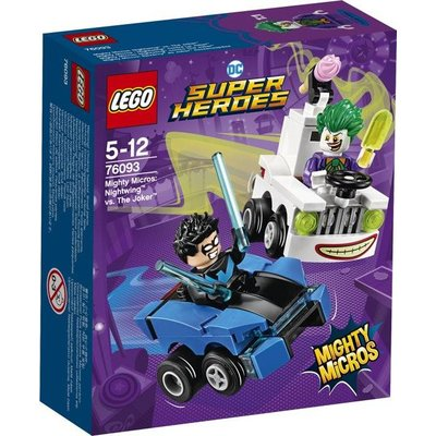 Lego Lego Super Heroes Nightwing vs The Joker Mighty Micros 76093