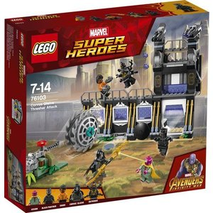 Lego Super Heroes Curvus Glaive Thresher Aanval 76103