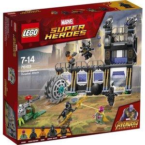 Lego Super Heroes Curvus Glaive Thresher Aanval 76103