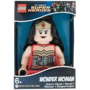 Lego Super Heroes Wonder Woman Wekker