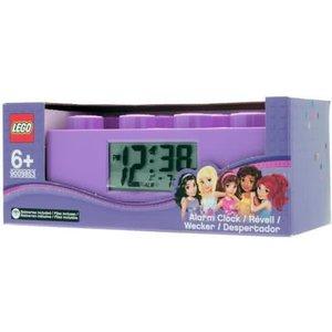 Lego Friends Wekker Paars