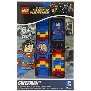 Lego Super Heroes Superman Horloge