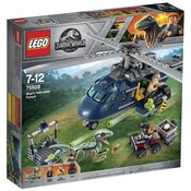Lego Lego Jurassic World Helikopterachtervolging van Blue 75928