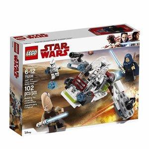 Lego Star Wars Jedi en Clone Troopers Battlepack 75206