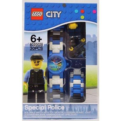Lego Lego City Politieagent Horloge