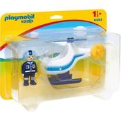 Playmobil Playmobil123 Politiehelikopter 9383