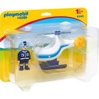 Playmobil 123 Politiehelikopter 9383