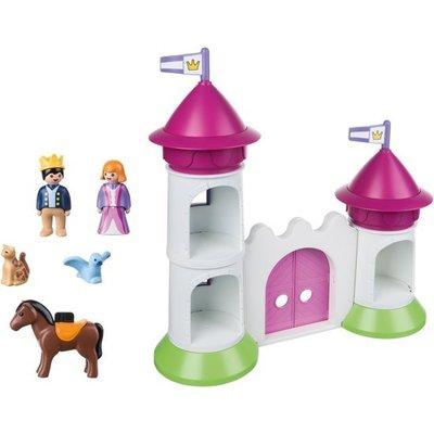 Playmobil 123 Kasteelpoort met Koningskoppel 9389