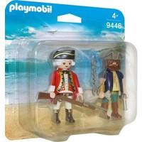 Playmobil Duopack Piraat en Soldaat 9446