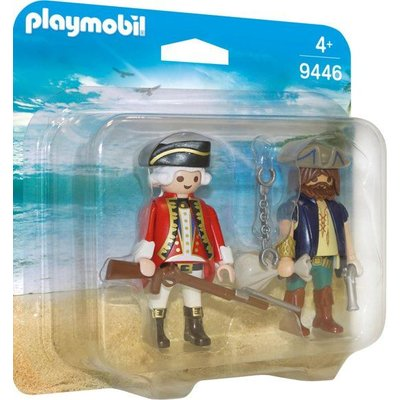 Playmobil Playmobil Duopack Piraat en Soldaat 9446