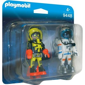 Playmobil Duopack Ruimtereizigers 9448