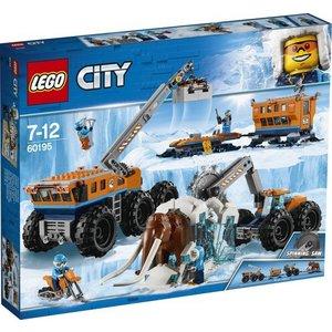 Lego City Arctic Mobiele Onderzoeksbasis op de Noordpool 60195