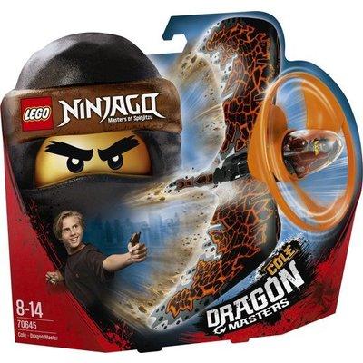 Lego Lego Ninjago Cole Drakenmeester 70645