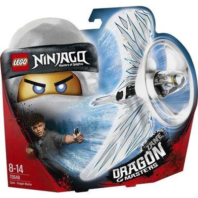 Lego Lego Ninjago Zane Drakenmeester 70648