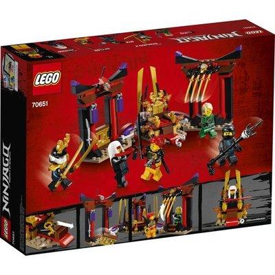 Lego Lego Ninjago Troonzaalduel 70651