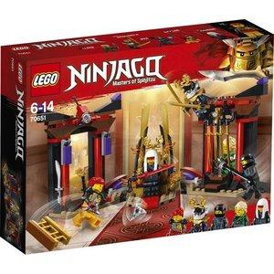 Lego Ninjago Troonzaalduel 70651
