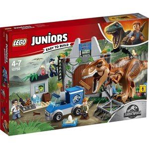 Lego Juniors T-Rex Ontsnapping 10758