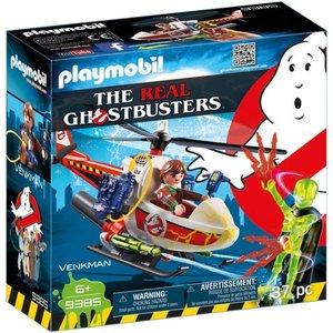 Playmobil Ghostbusters Venkman met Helikopter 9385