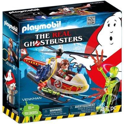 Playmobil Playmobil Ghostbusters Venkman met Helikopter 9385