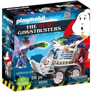 Playmobil Ghostbusters Sprengler met  Kooiwagen 9386