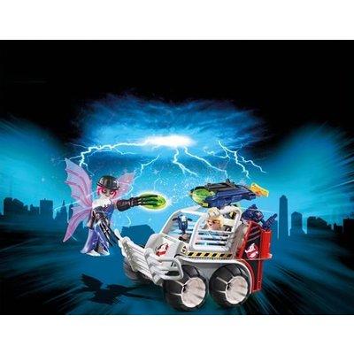 Playmobil Playmobil Ghostbusters Sprengler met  Kooiwagen 9386