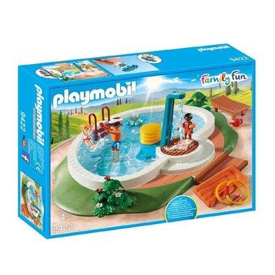Playmobil Playmobil Family Fun Zwembad 9422
