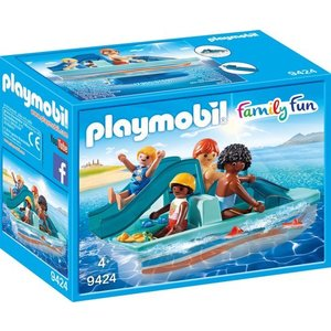 Playmobil Family Fun Waterfiets met Glijbaan 9424