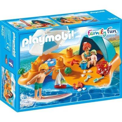 Playmobil Playmobil Family Fun Familie aan het Strand 9425