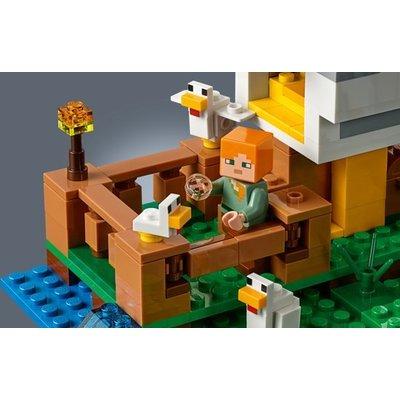 Lego Lego Minecraft Het Kippenhok 21140