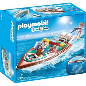 Playmobil Family Fun Moterboot met Onderwatermoter 9428