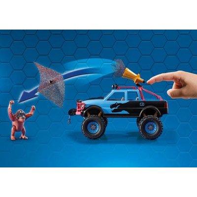 Playmobil Playmobil Super4 Monstertruck met Alex en Brute Brock 9407