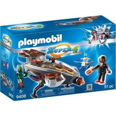 Playmobil Playmobil Super4 Sykronian Ruimteschip met Gene 9408